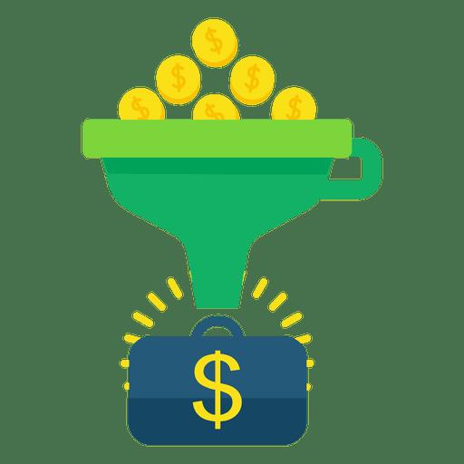 Funnel conversion money.