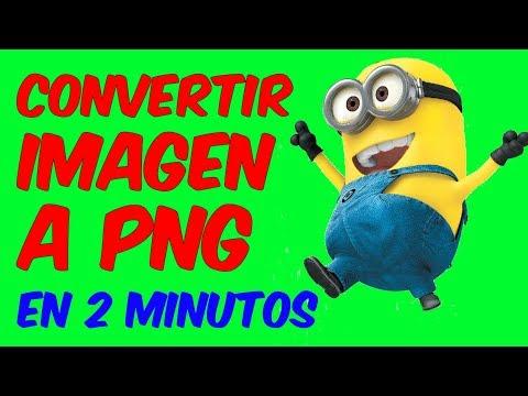 COMO CONVERTIR IMAGEN a PNG ONLINE Convertidor De Imagenes En Linea.