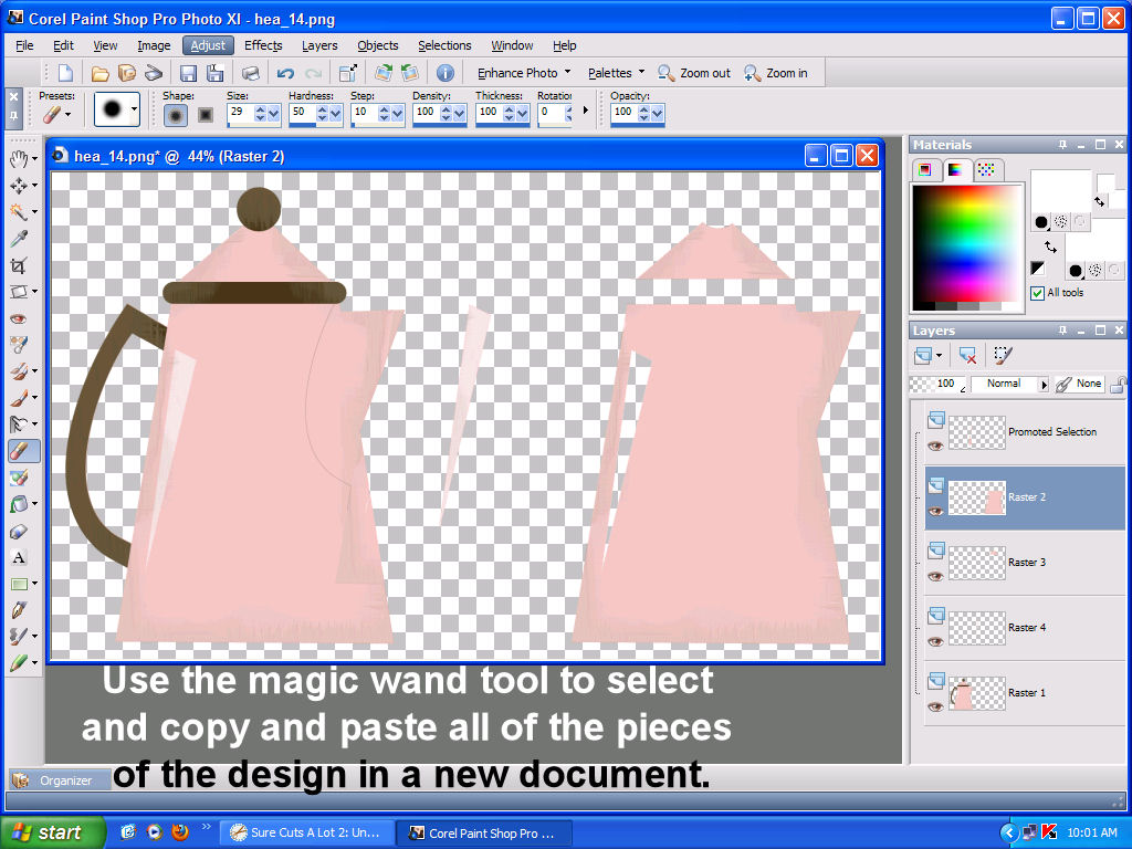 How to convert clip art to a cutting file for Cricut.