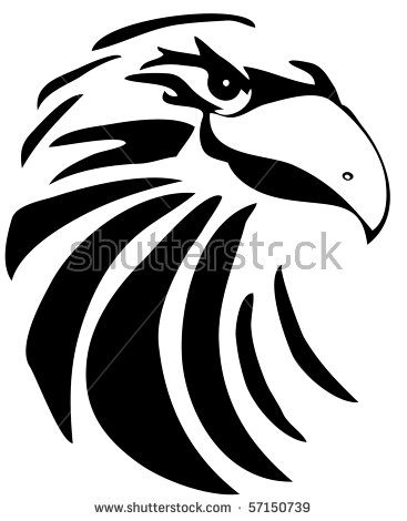 Hand Drawn Hawk Converted Clipart Stock Illustration 57150739.