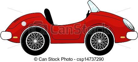 Red convertible car Clip Art and Stock Illustrations. 494 Red.