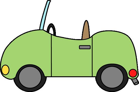 Cute Convertible Car Clipart.