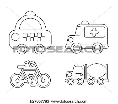 Clipart of conveyance icon k27657783.