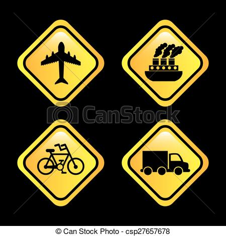 Vectors Illustration of conveyance icon design, vector.