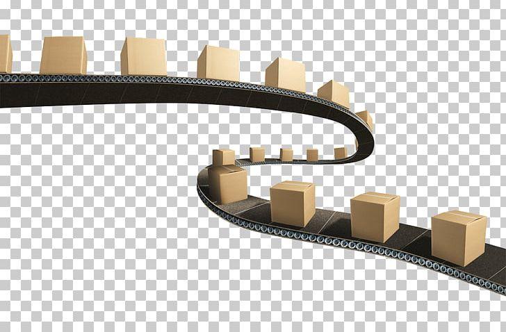 Conveyor Belt Transport Logistics Conveyor System PNG.