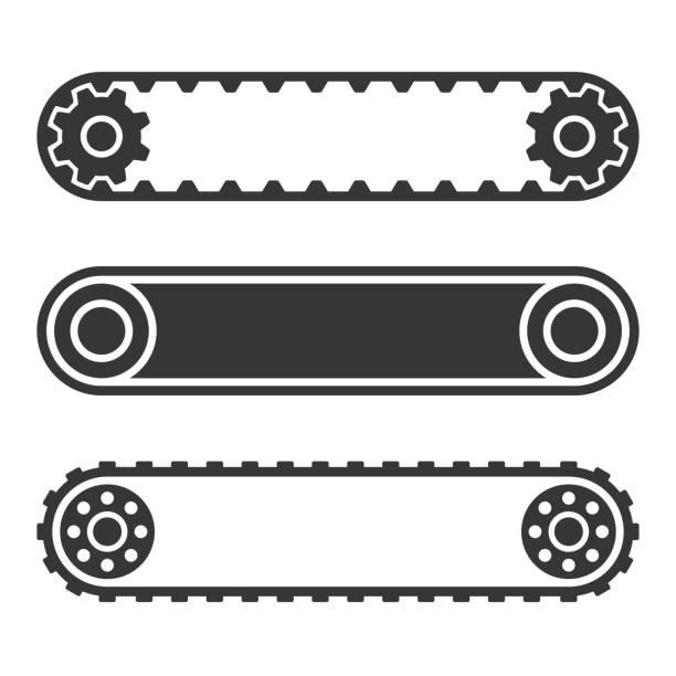 Best Conveyor Belt Illustrations, Royalty.