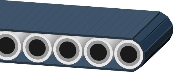 Conveyor Belt clip art Free vector in Open office drawing svg ( .svg.