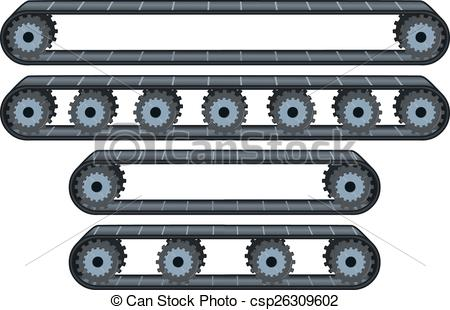 Conveyor belt Vector Clipart EPS Images. 882 Conveyor belt clip.
