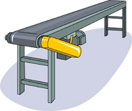 Conveyor Clipart.