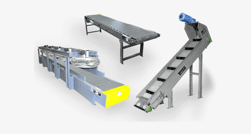Belt Conveyors With Wire Mesh.