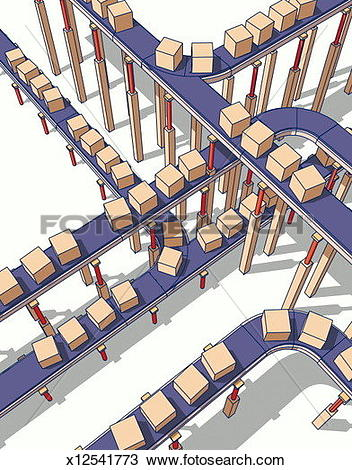 Conveyor belt Illustrations and Clipart. 438 conveyor belt royalty.