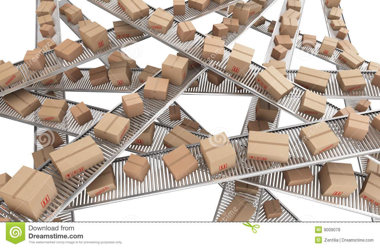Conveyor Stock Illustrations.