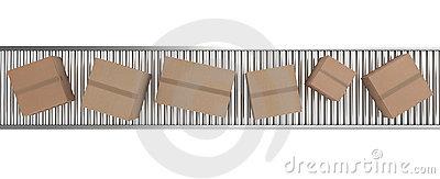 Conveyor Belt Icon Set Stock Vector.