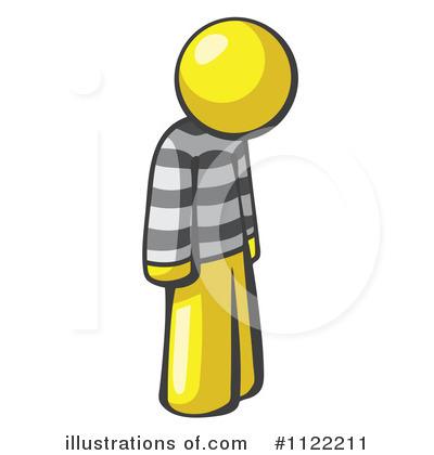Prisoner Clipart #1122207.