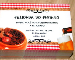 Convite Feijoada.
