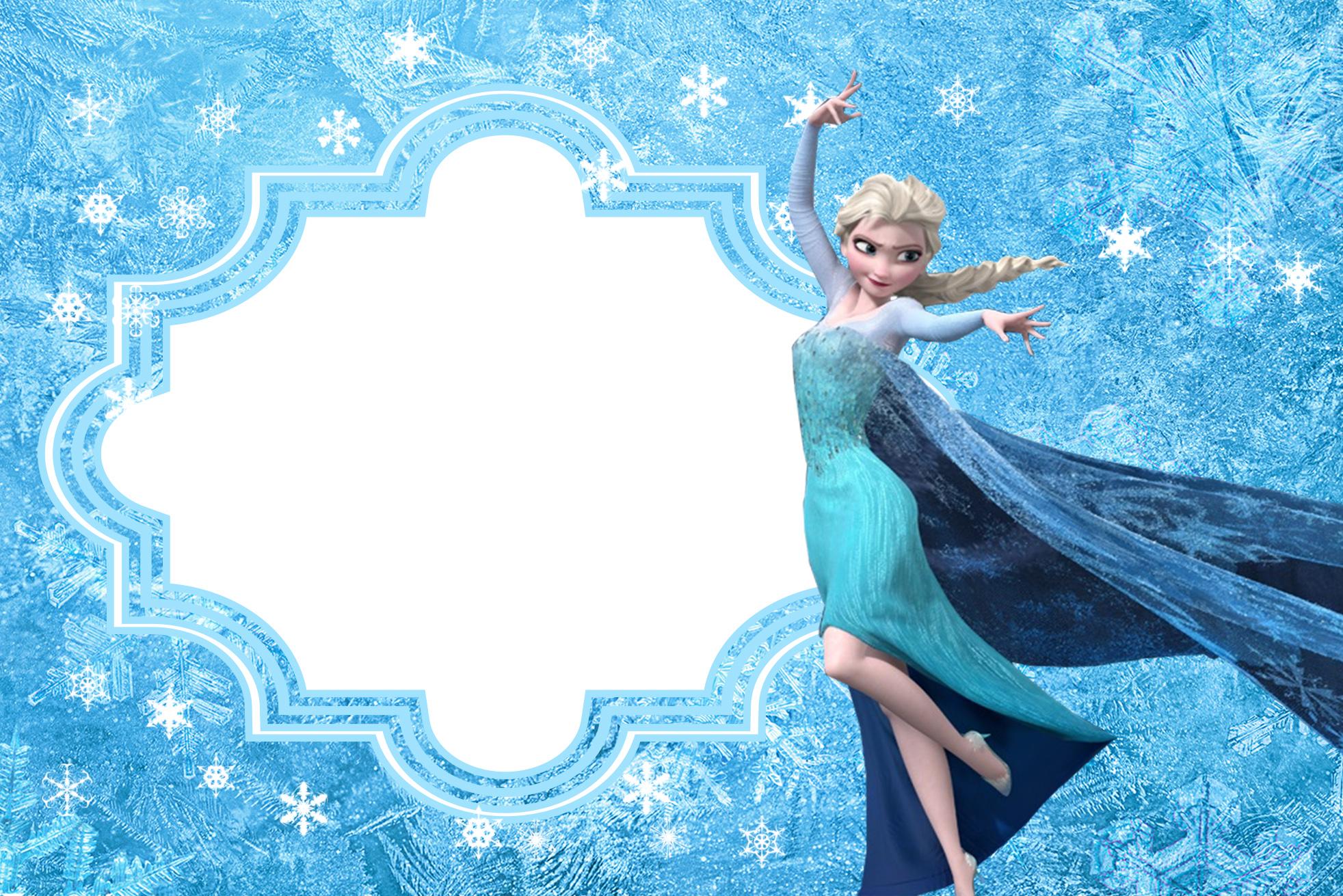 Convite Frozen 116 PNG Grátis para baixar jpg,png.
