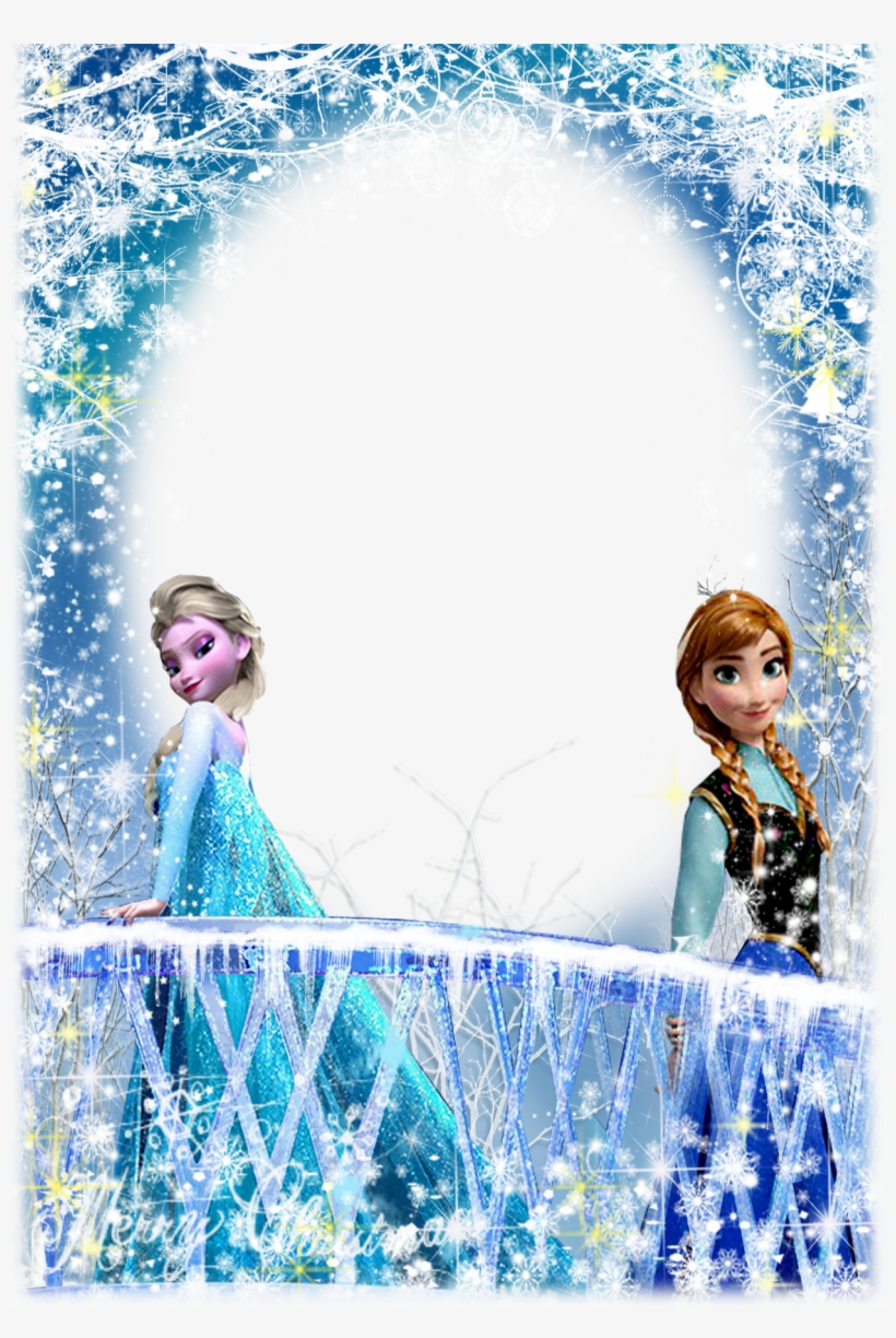 Convite Frozen Png Banner Black And White Download.