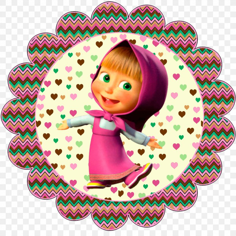 Masha And The Bear Party Birthday, PNG, 1559x1559px, Masha.