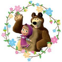 338 melhores imagens de Masha e o urso em 2018.
