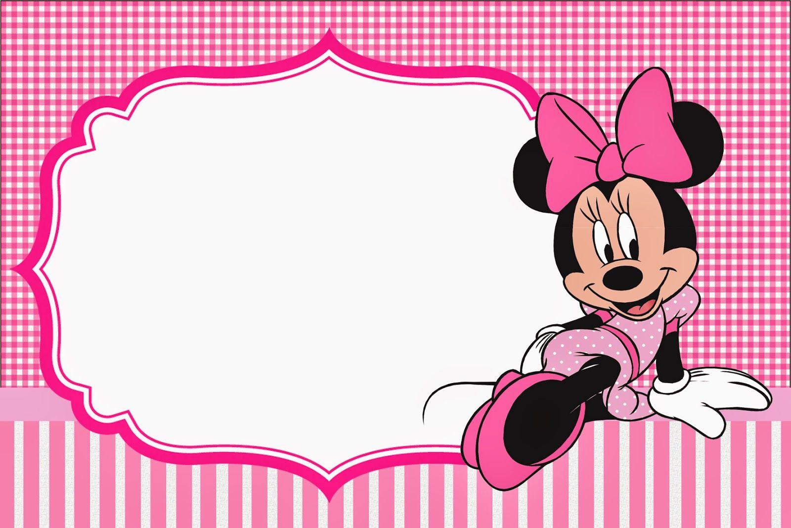 Passatempo da Ana: Minnie Rosa.