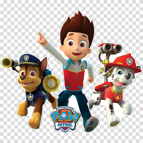 Paw Patrol illustration, PAW Patrol Birthday Party Convite.
