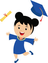 Collection of 14 free Graduation clipart convocation bill clipart.