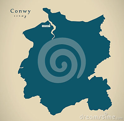 Conwy Stock Illustrations.