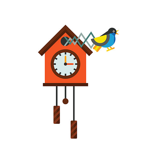 Best Cuckoo Clock Illustrations, Royalty.