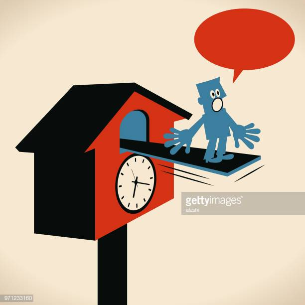 44 Cuckoo Clock Stock Illustrations, Clip art, Cartoons & Icons.