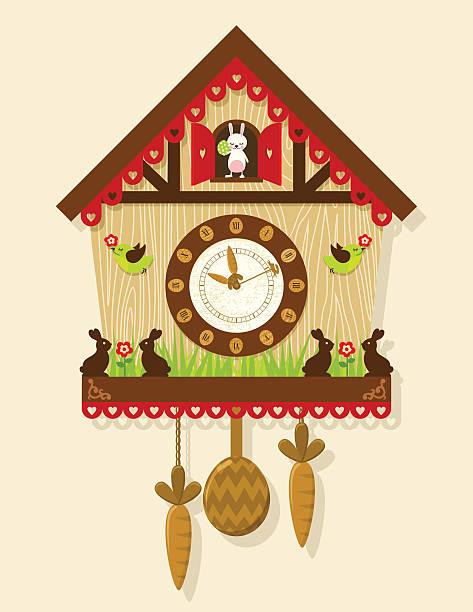 Best Cuckoo Clock Illustrations, Royalty.