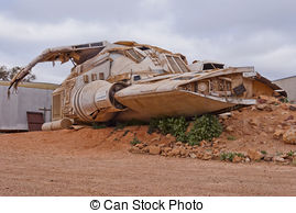 Picture of Abandoned rusty cars in the Australian bush csp17115073.