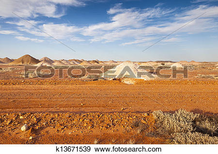 Stock Photograph of Coober Pedy k13671539.