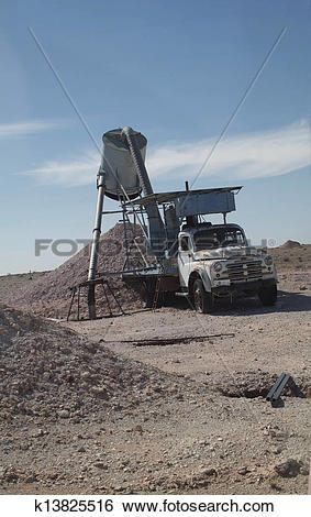 Stock Images of Coober Pedy, South Australia k13825516.