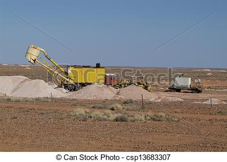 Stock Photography of Australia, Coober Pedy.
