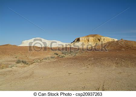 Stock Image of Coober Pedy, South Australia.