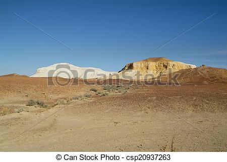 Stock Image of Coober Pedy, South Australia.