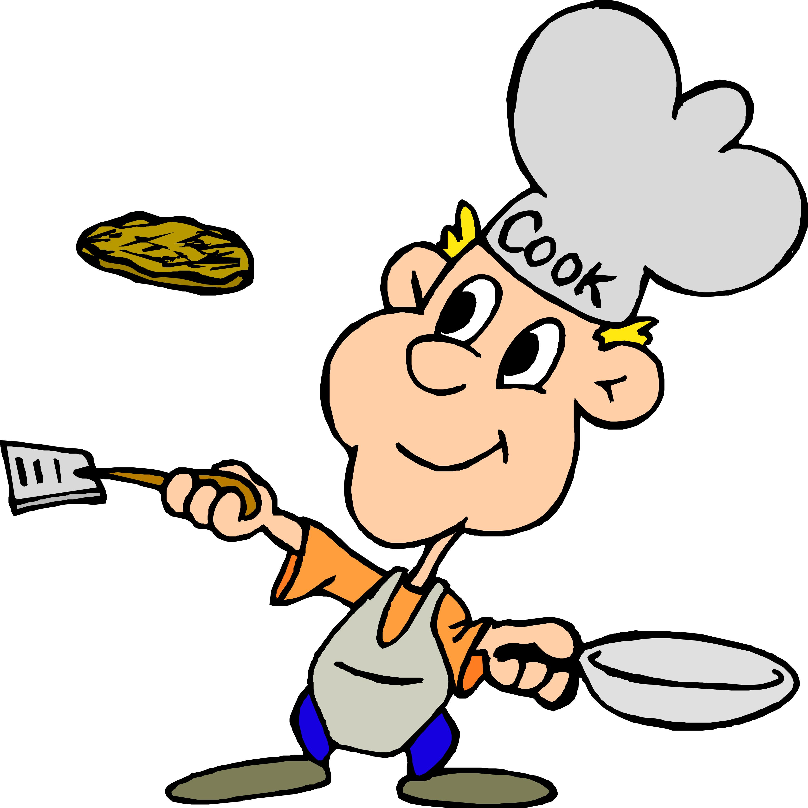Cook Clipart.