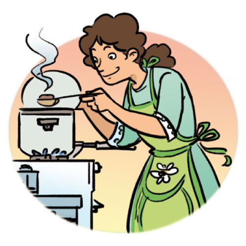 Cook clipart #13