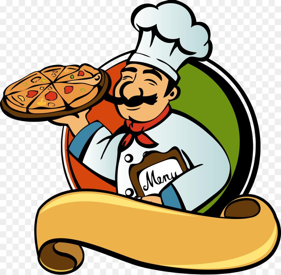 Pizza Chef clipart.