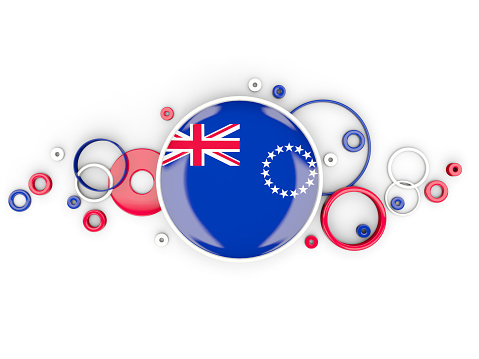 Cook Islands Flag Clip Art, Vector Images & Illustrations.