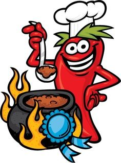 Chili cook clipart in 2019.