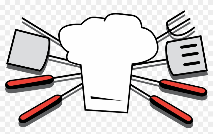 Grilling Tools Chef Hat Cooking Png Image.
