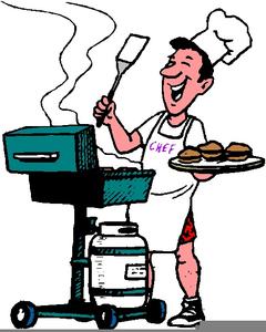 Cartoon Cookout Clipart.