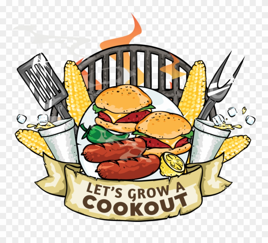 Let's Grow A Cookout Clipart (#3028816).
