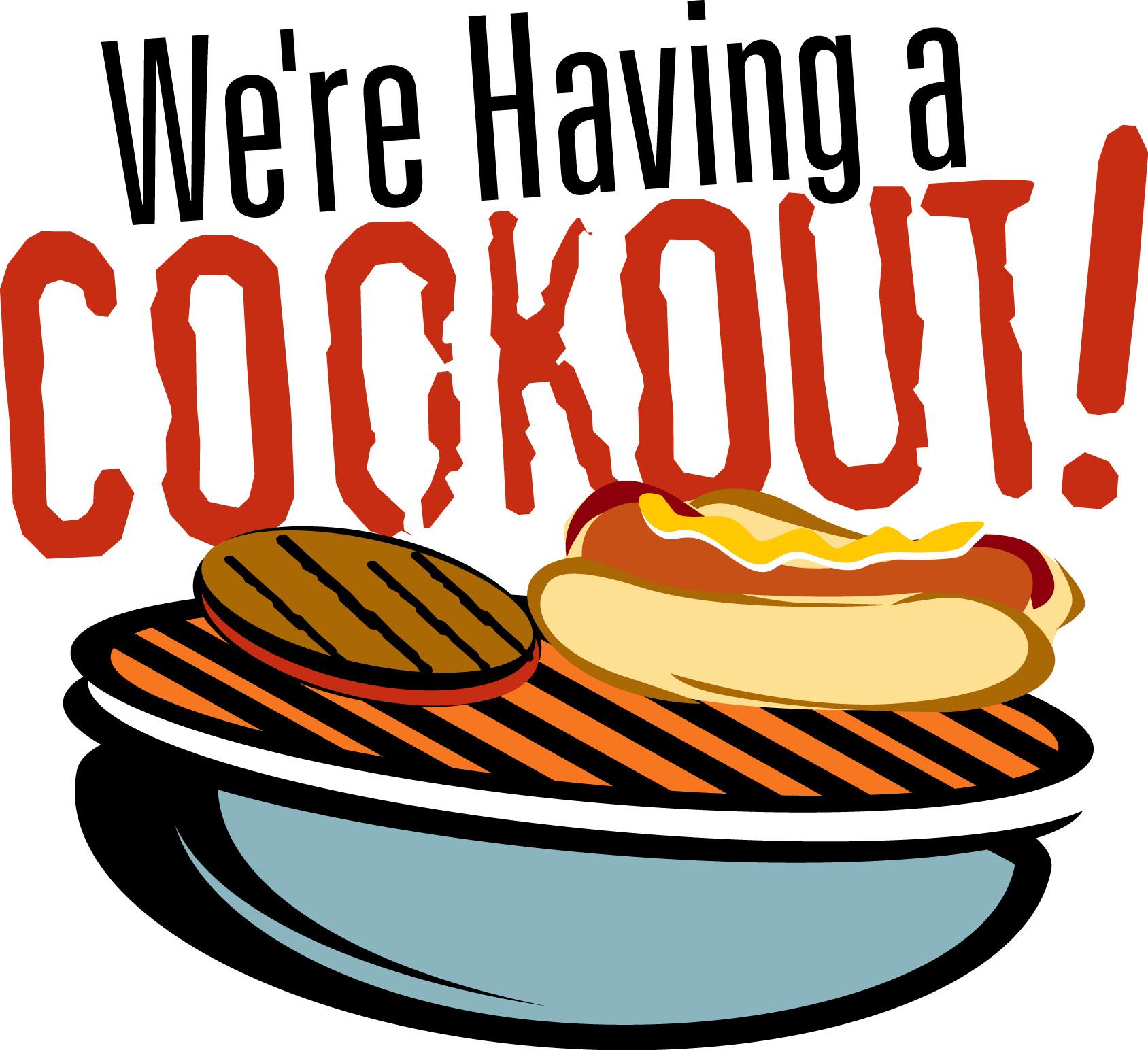 Summer Cookout Clipart.