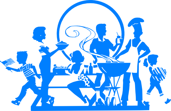 Cook out clipart #7