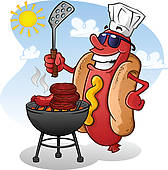 Cookout Clip Art Royalty Free. 700 cookout clipart vector EPS.