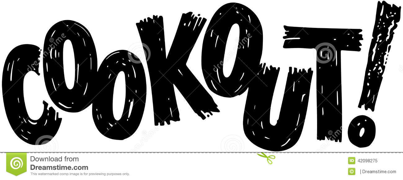 Cookout Stock Illustrations.