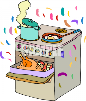 Clipart heat up food.