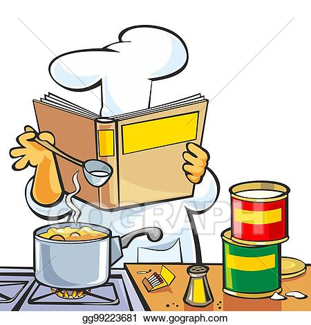 Cookbook Images Clip Art Free Clipart Recipe Chef Conventional.